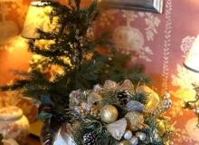 店内クリスマス飾り付け