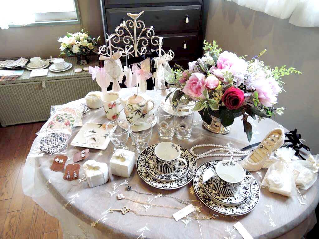 お花展|アリスの茶屋|つくば